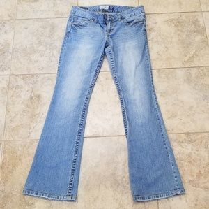 Aeropostale Good Cond. Skinny Flare Blue Jeans